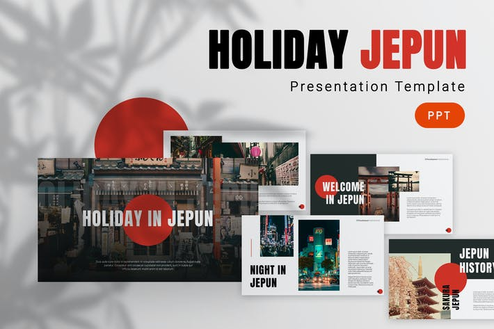 Thumbnail for Jepun - Travelling Powerpoint Template
