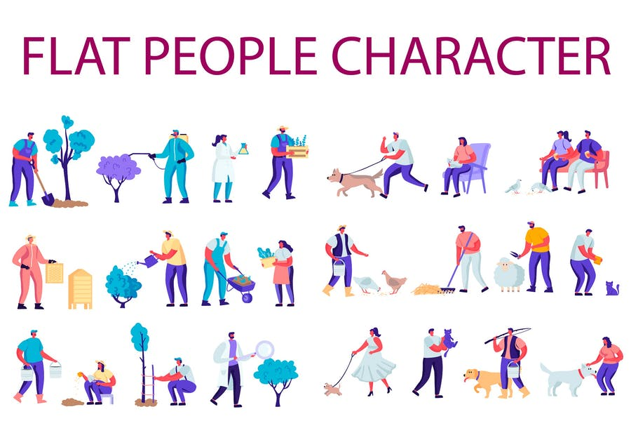 People Character Creator Kit