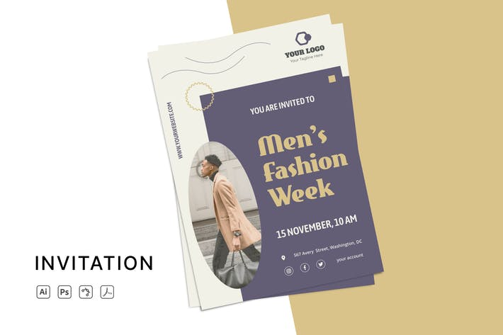 Thumbnail for Fashion Week Invitation