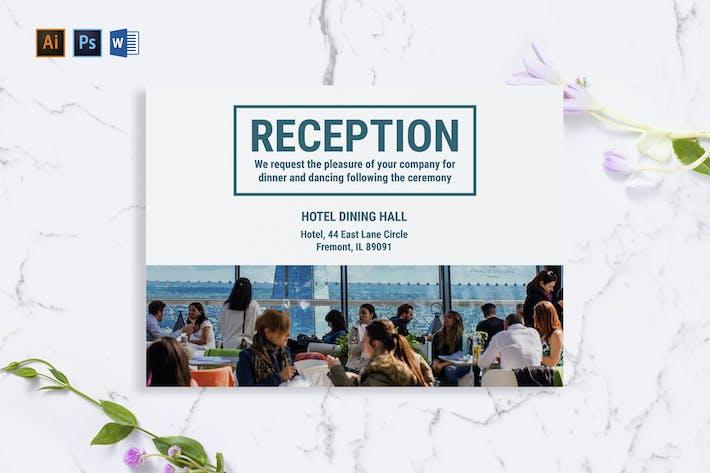 Thumbnail for Carte de vœux d'hôtel