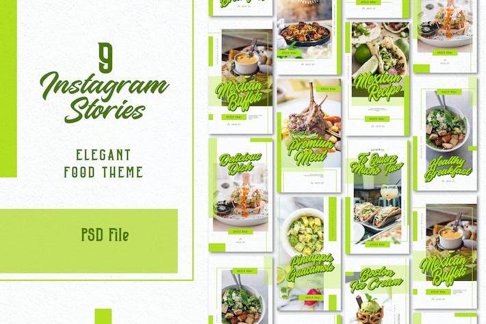 Thumbnail for Elegante Essensgeschichten