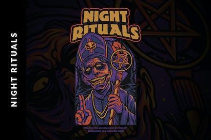 Ночные ритуалы Хэллоуин И