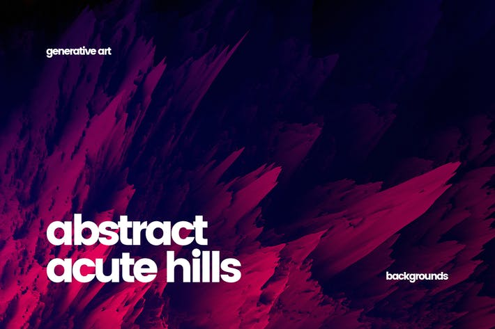 Thumbnail for Abstract Acute Hills Backgrounds