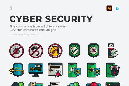 30 Internet security Icons