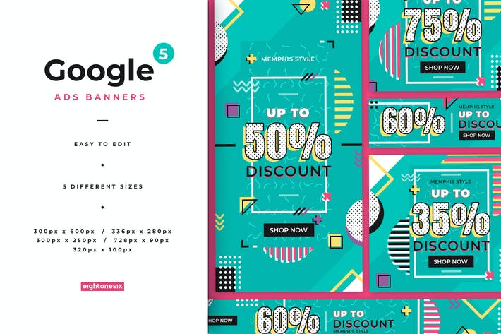 Thumbnail for Google Ads Banner Templates
