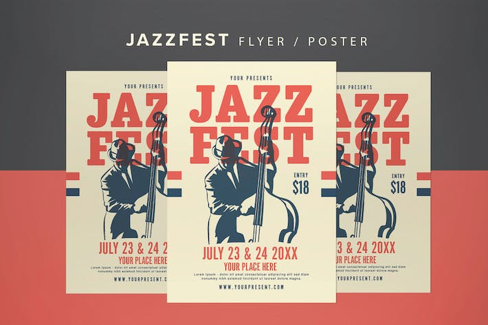 Thumbnail for Jazzfest Flyer