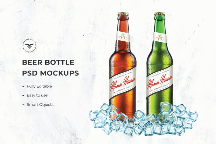 Thumbnail for Beer Bottle Mockups