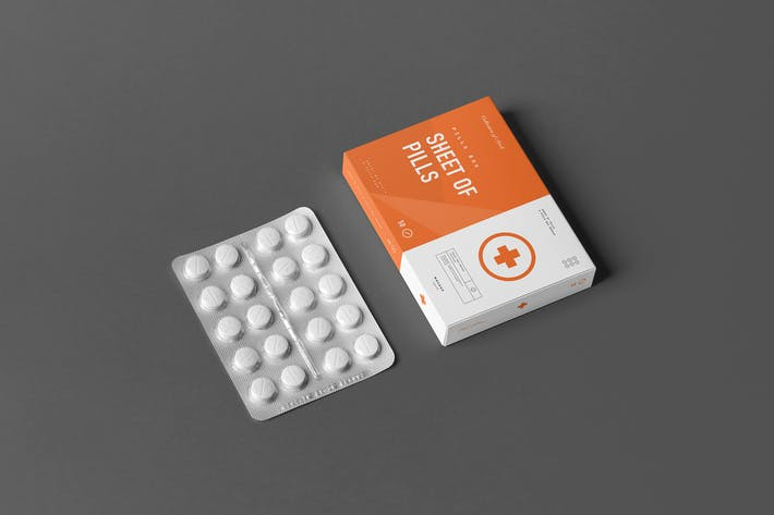 Thumbnail for Pills Box Mock-up 2