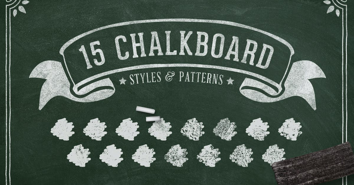 Chalk and Charcoal Photoshop Styles Volume 1 by DesignPanoply