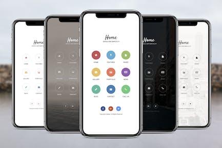 AMP Home Mobile | Google AMP Mobile Template