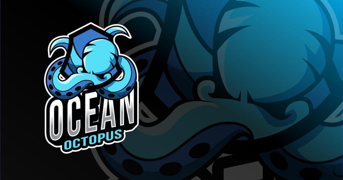 Download Ocean Octopus Esport Logo Template by IanMikraz