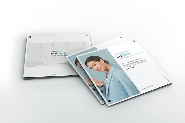 Thumbnail for Stefanie Branding Square Brochure