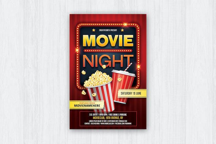 Movie Night / Movie Time Flyer