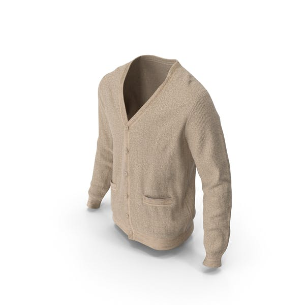 Mens Sweater Beige