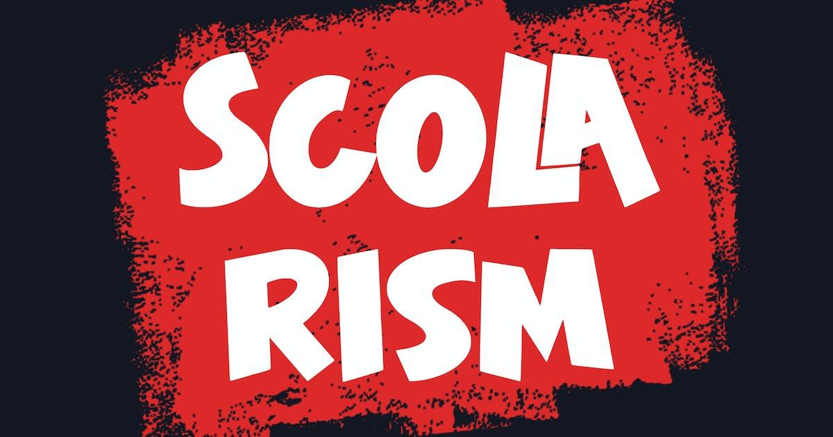 Download Scolarism - Sans Serif Font by arendxstudio