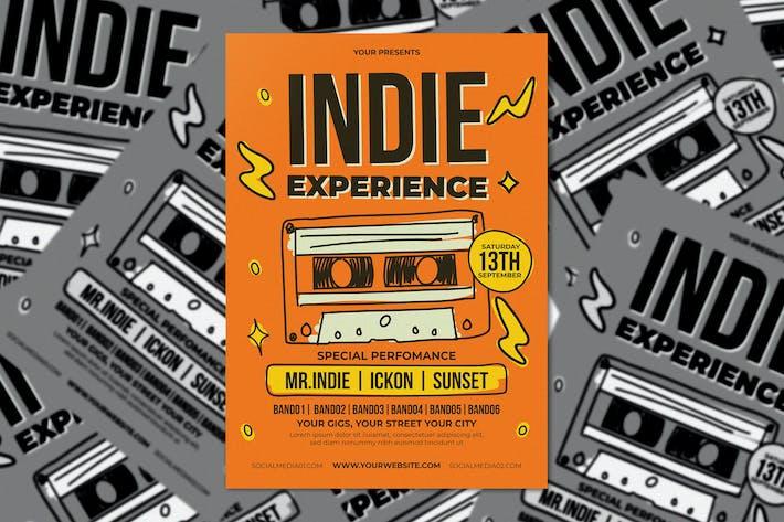 Thumbnail for Инди опыт Флаер