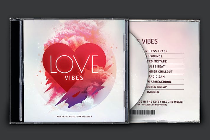 Thumbnail for Love Vibes CD Cover Artwork