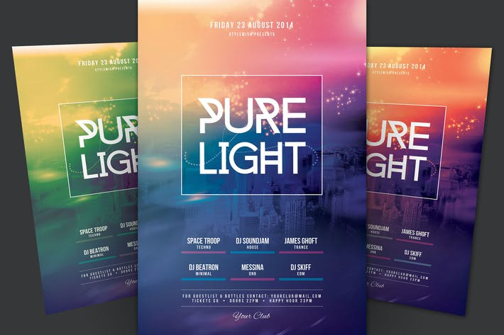 Thumbnail for Pure Light Flyer