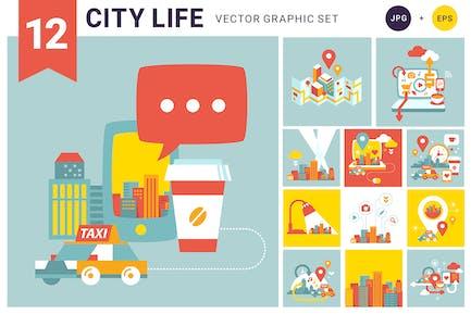 Leben in der Stadt