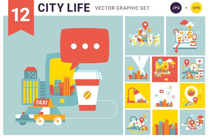 Thumbnail for Городская жизнь