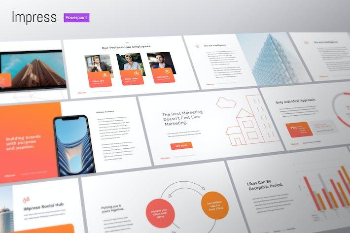 Impress - Digital Marketing Powerpoint