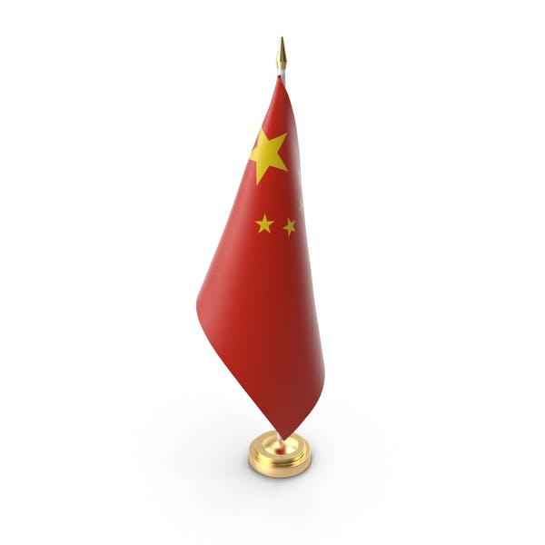 Tabelle Flagge China
