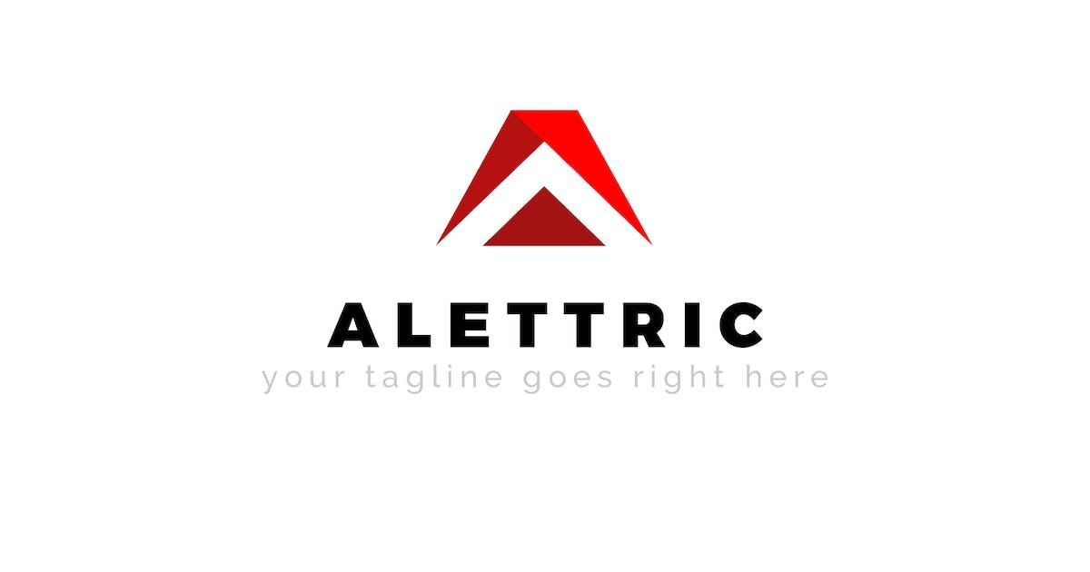 Download Alettric - A Letter Premium Logo Design by ThemeWisdom