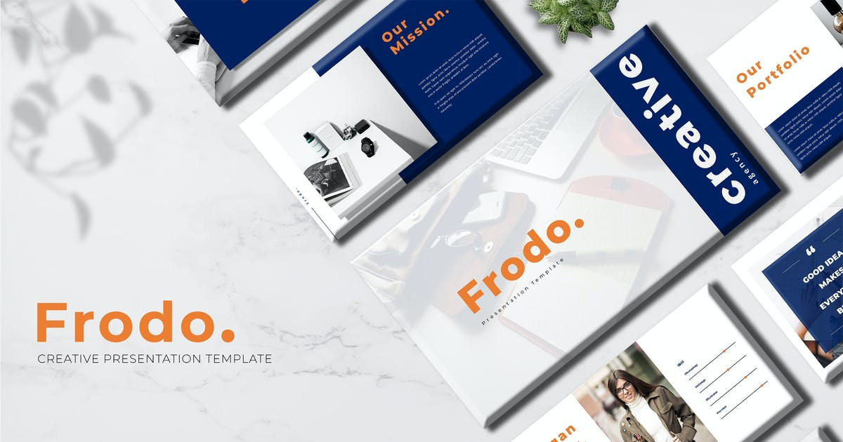 Download Frodo - Creative Keynote Template by Incools
