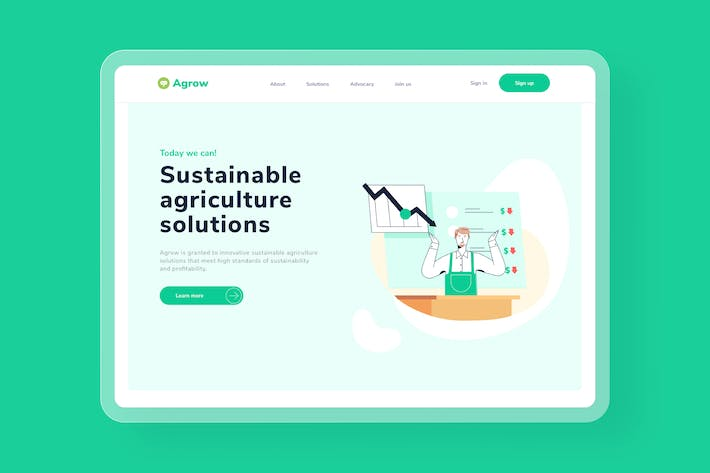Thumbnail for Sustainability Market Research Landing page