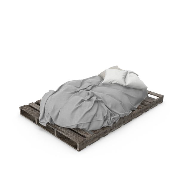 Cover Image for Pallet Bed
