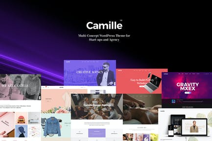 Camille - Multi-Concept WordPress Theme