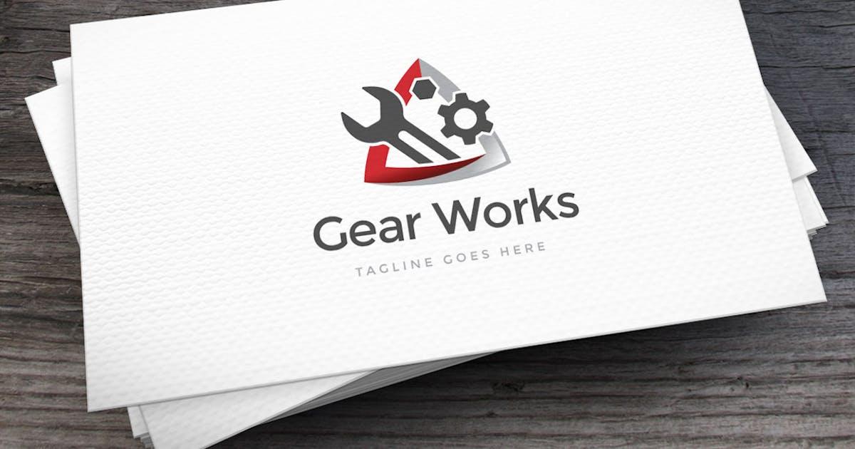 Gear Works Logo Template by empativo