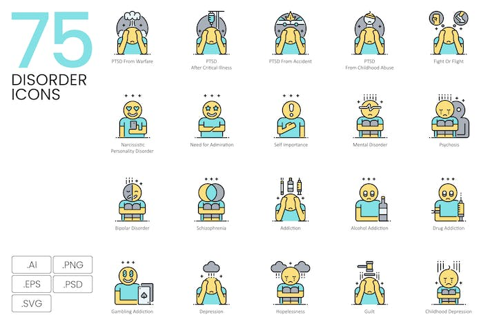 Thumbnail for 75 Unordnung Icons