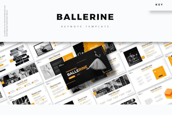 Thumbnail for Ballerine - Keynote Template
