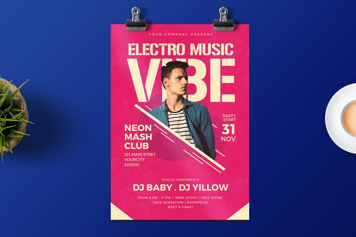 Cover Image For Disco Party Flyer