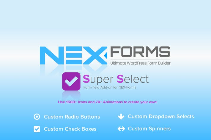 Thumbnail for NEX-Forms - Super Selection Form Field Add-on
