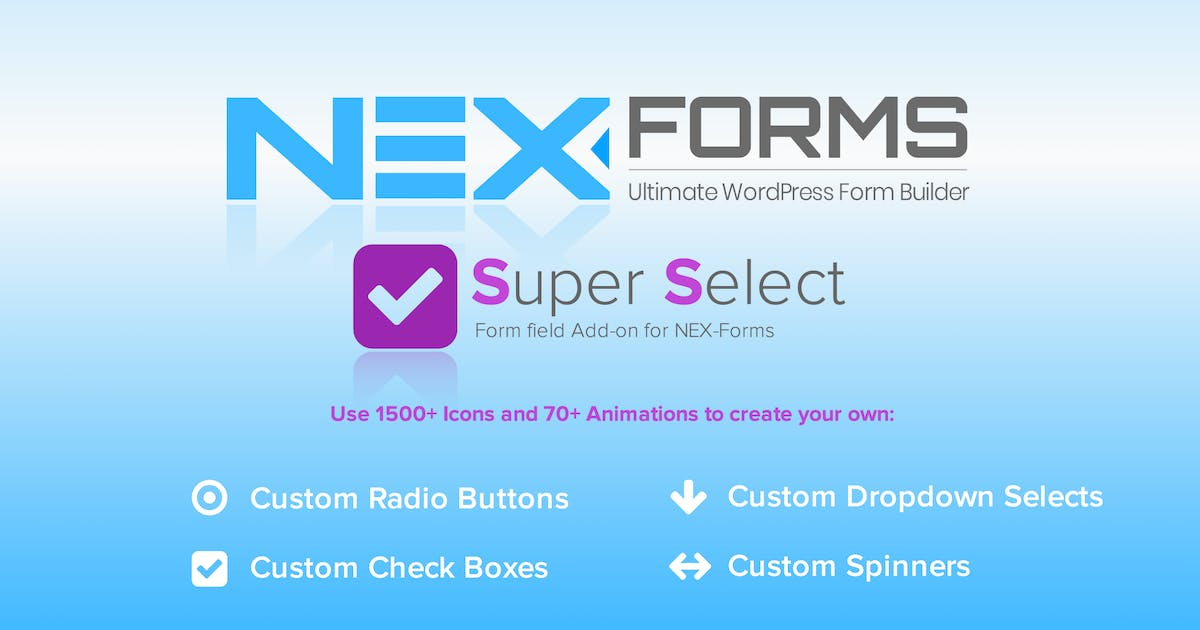 Download NEX-Forms - Super Selection Form Field Add-on by Basix