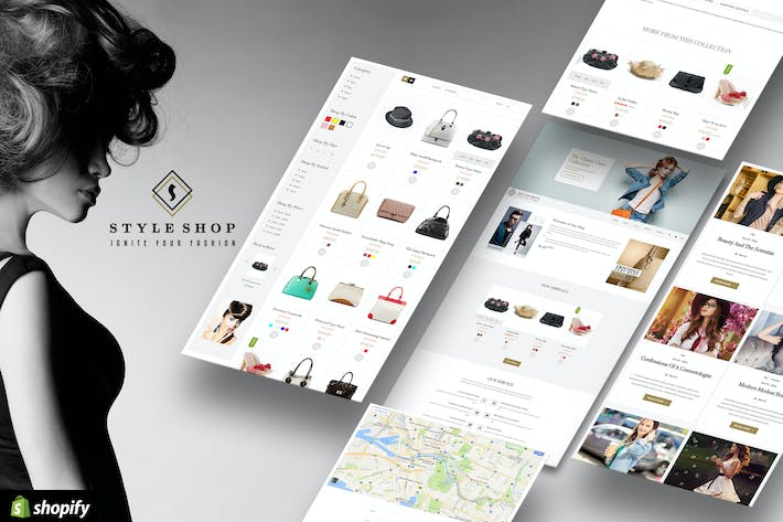 Thumbnail for Hi Fashion | Multi-purpose Shopify Store Template