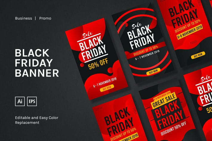 Cover Image For Black Friday Sale Banner