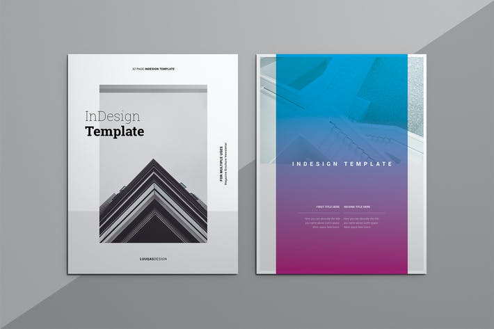 Thumbnail for Multipurpose Indesign Template 8