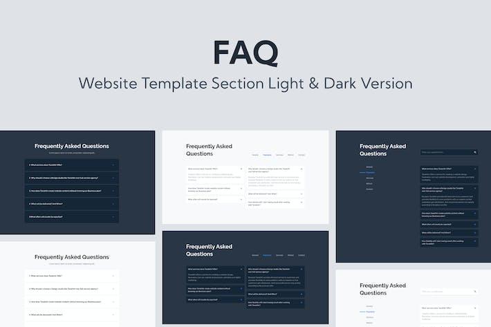 Web FAQ Template