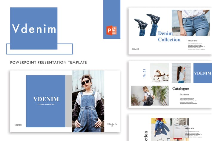 Thumbnail for Vdenim Powerpoint Template