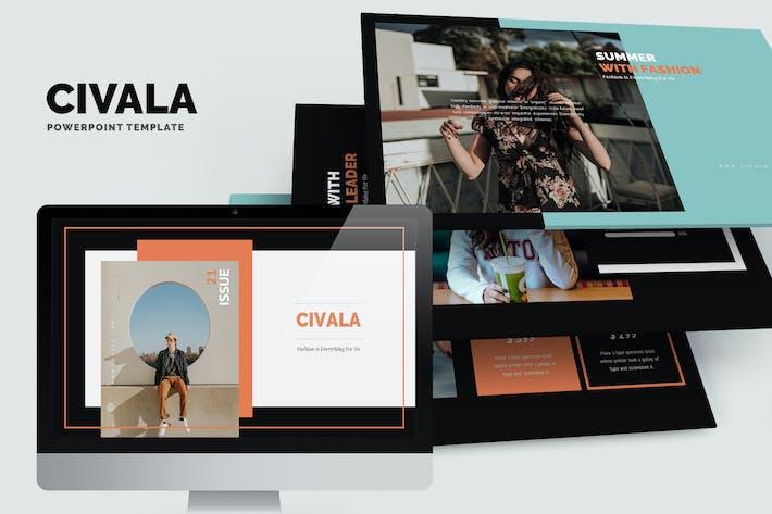 Thumbnail for Civala : Summer Fashion Powerpoint
