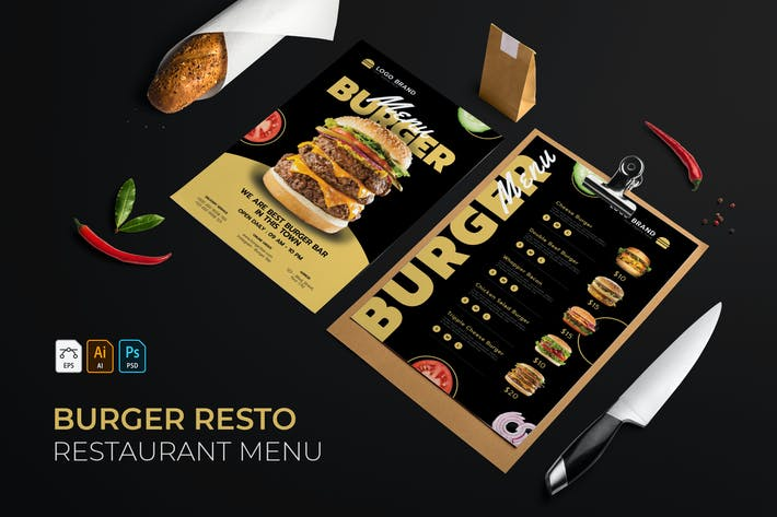 Thumbnail for Burger | Restaurant Menu