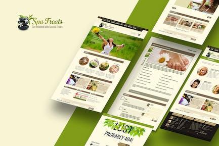 Spa Treats - A Health / Spa Salon HTML Template