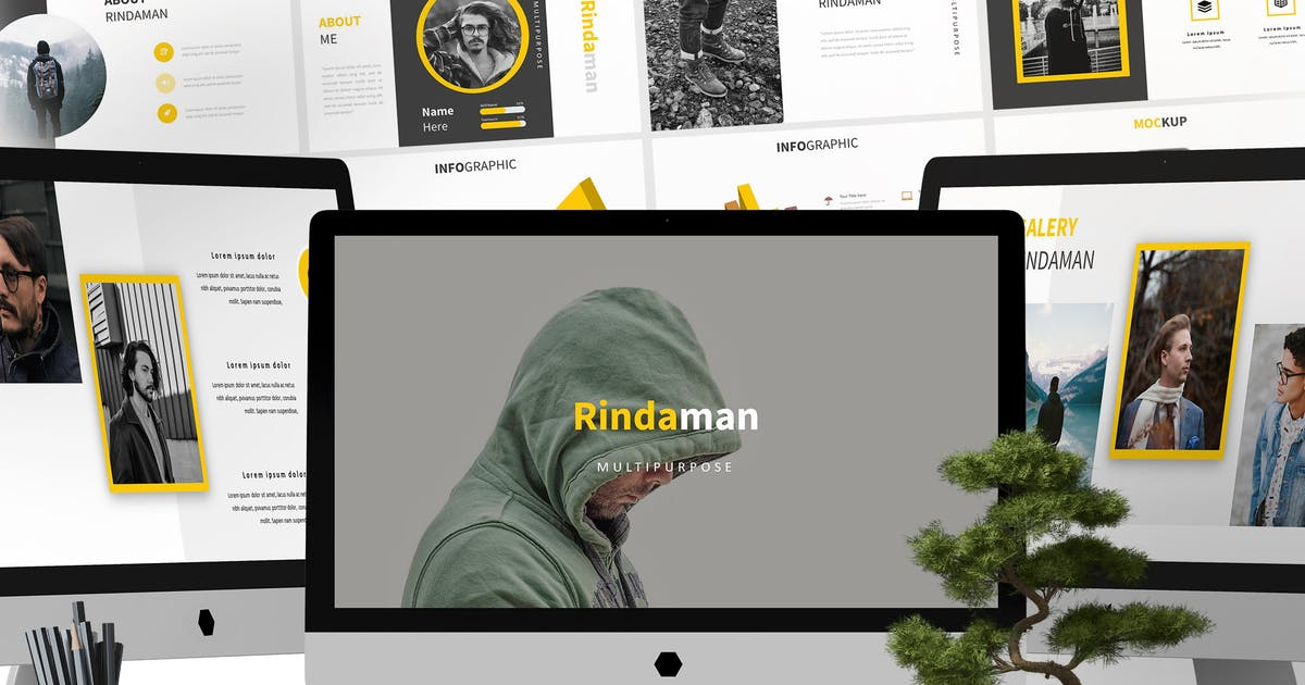 Download Rindaman - Powerpoint Template by aqrstudio