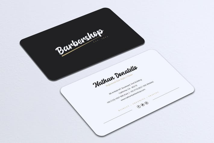 Thumbnail for Minimalist Business Card Vol. 21
