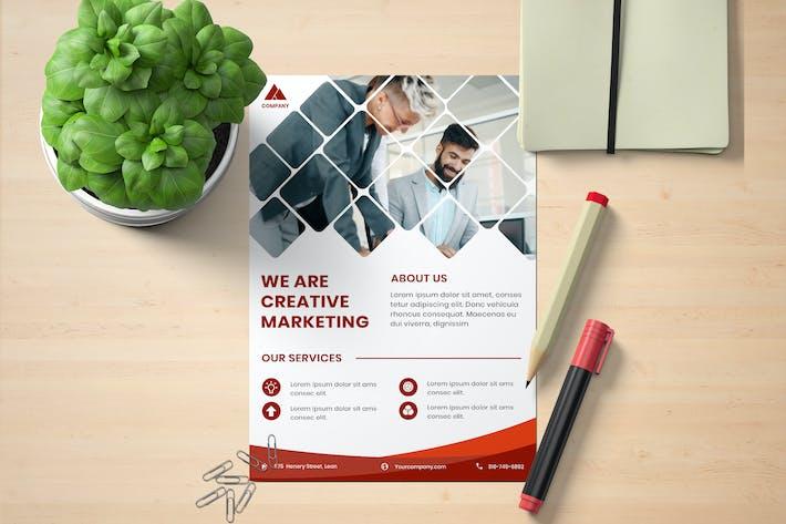Thumbnail for Modèle de dépliant marketing d'entreprise