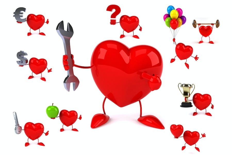 10 fun Hearts !