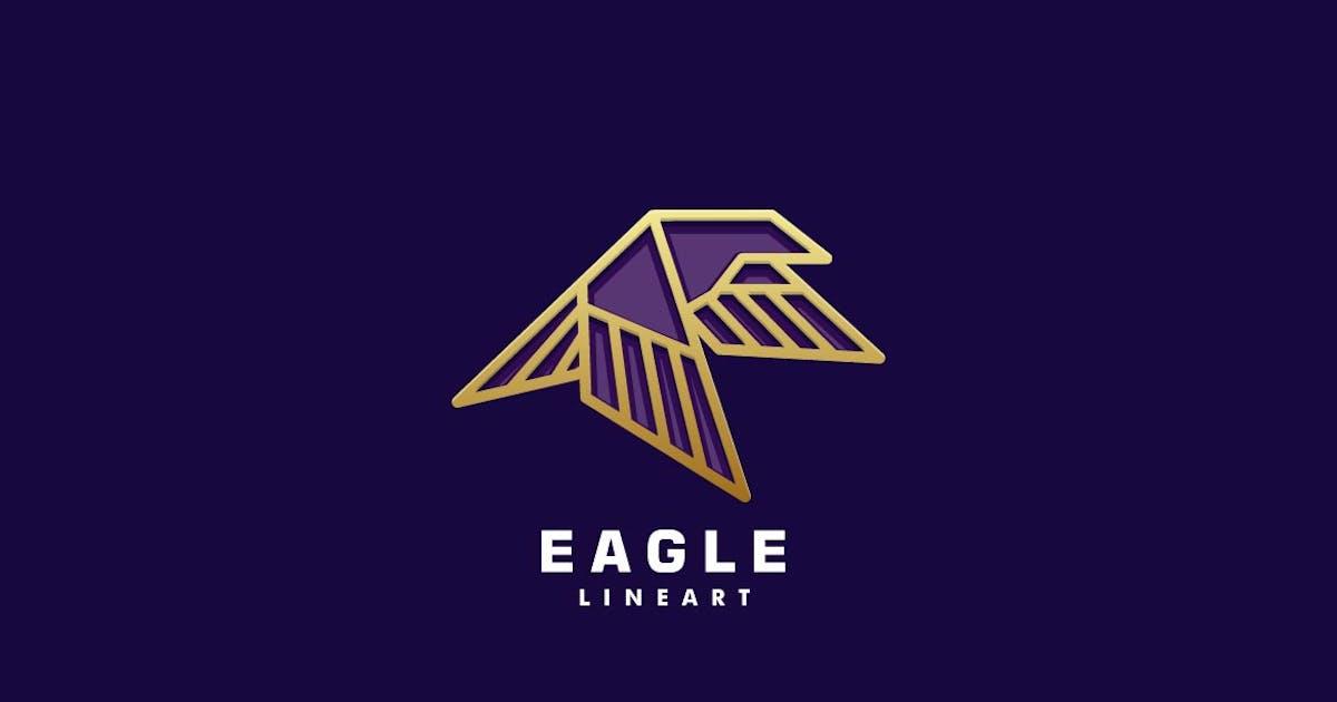 Download Eagle Color Line Art Logo by ivan_artnivora